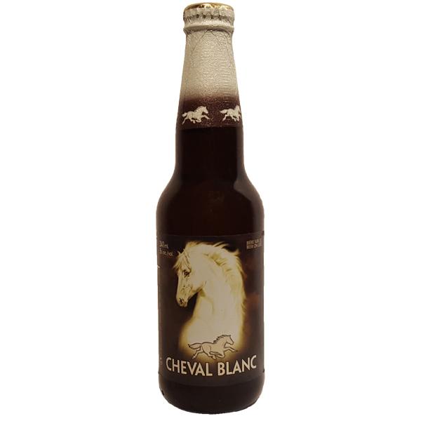 Biere blanche - Cheval Blanc - 5% - RJ - Montreal