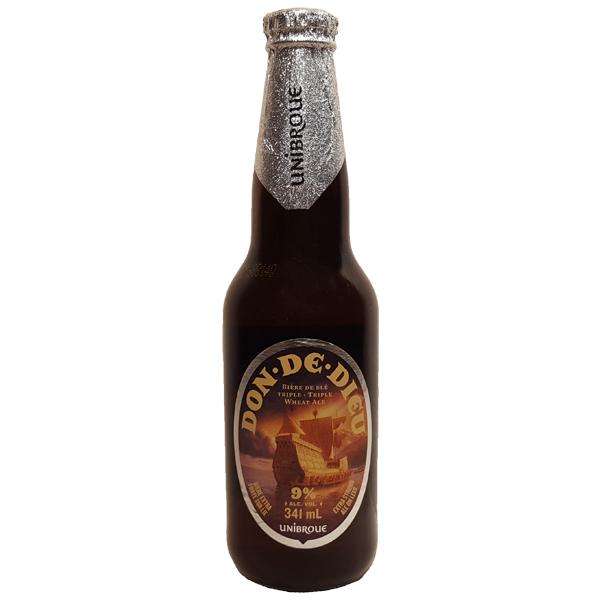 Biere blanche Don de Dieu - 9% - Unibroue - Quebec