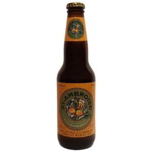 Biere St-Ambroise a l'abricot - 5% - Mc Auslan - Montreal