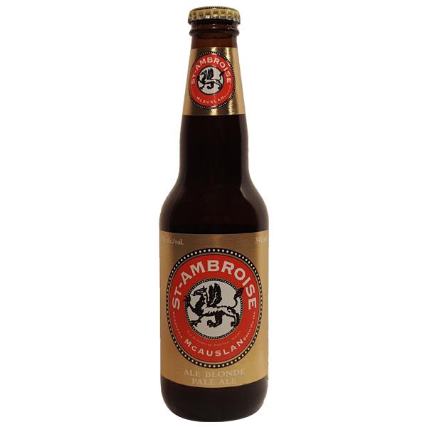 Biere St-Ambroise blonde - 5% - Mc Auslan - Montreal