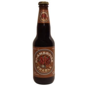 Biere St-Ambroise a l'erable - 4,5% - Mc Auslan - Montreal