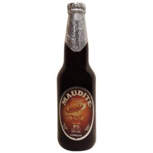 Biere Maudite double rousse 8% - Unibroue - Quebec