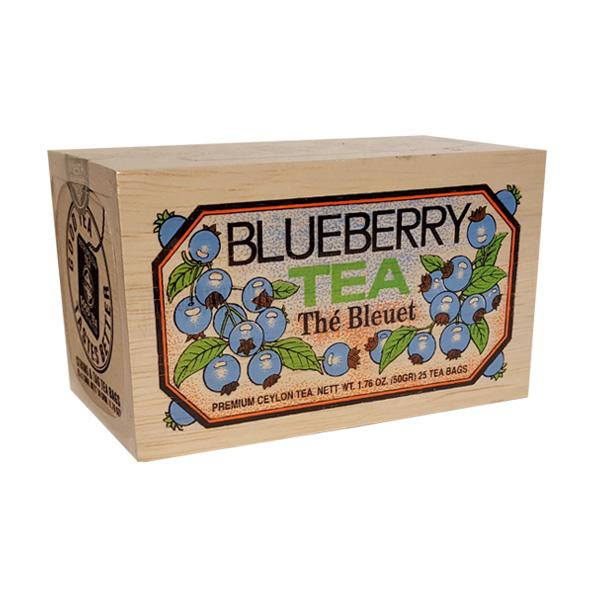 The au bleuet - boite bois - 25 sachets - Metropolitan Tea - Toronto